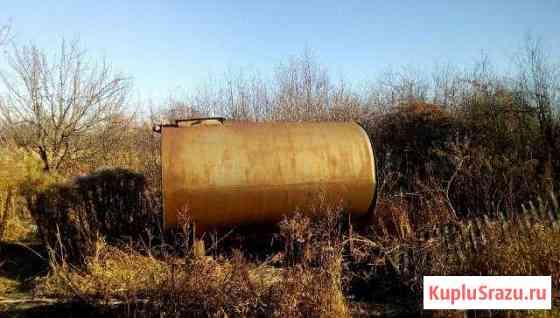 Бак металлический 3 м3 + 2 ж/б блока Саранск