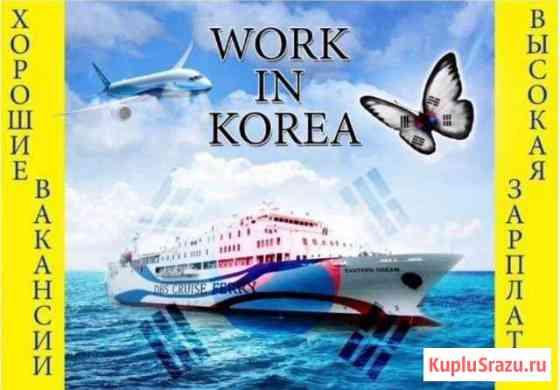 Рабочие в Южной Корее Владивосток