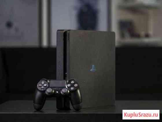 Sony PS4 Slim / полный комплеки Омск