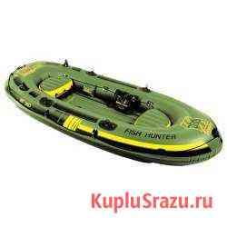 Лодка резиновая 4-местная sevylor HF360 Fish Hunte Лотошино