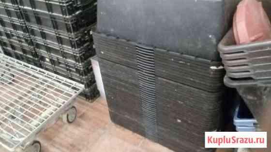 Ящики пластик 90л и 60л(Сибтек). Термоконтейнеры Мещерино