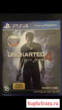 Uncharted 4 for ps4 Снегири