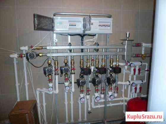Монтаж отопления, водоснабжения, канализации Ногинск