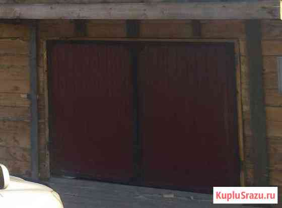 Ворота на гараж Козулька