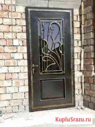 Реставрация дверей ворот. Замена замков вскрытие д Шамхал