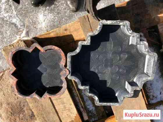 Формы пластиковые для производства тротуарной плит Омск