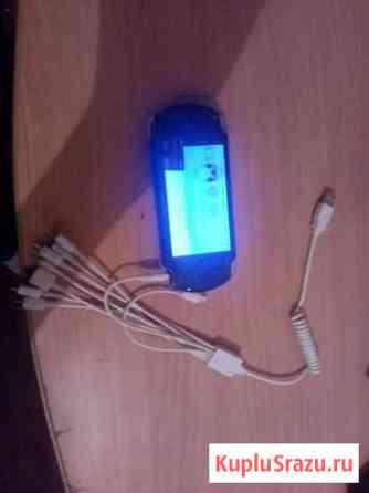 Sony PSP прошитая. + карта памяти 8mb + зарядка ун Омск