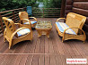 Садовая мебель из ротанга