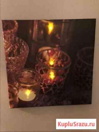 Картина «Горящие свечи» Дмитров
