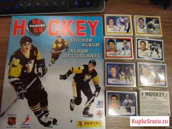 Panini NHL 1988/89 альбом + полный набор наклеек Санкт-Петербург