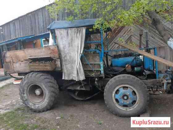 Трактор самодельный Курагино