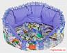 Лежак для домашних животных амели (сиреневый)