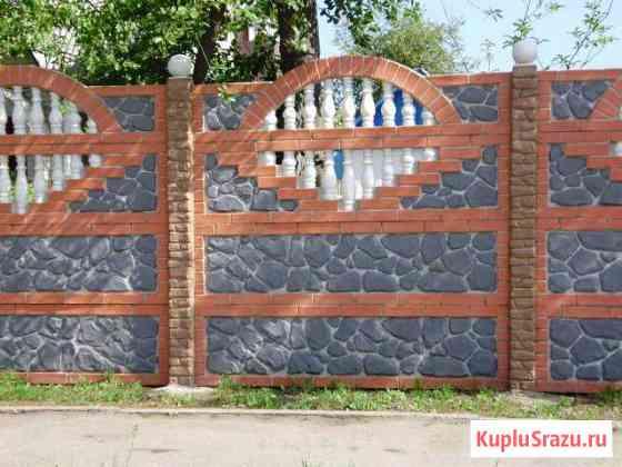 Декоративные заборы из бетона Курск