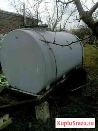 Бочка на шасси Кантемировка