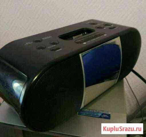 Магнитола Sanyo dmp-8,радио,часы,док станция для i Петропавловск-Камчатский