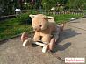 Качалка с креслицем Lider Kids Мишка с музыкой