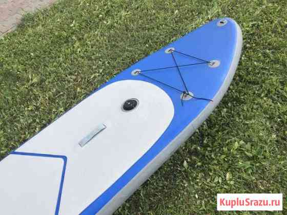Надувная доска для SUP серфинга с парусом Москва