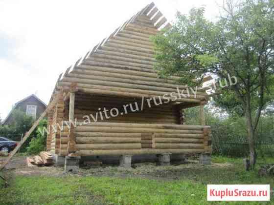 Сруб дома Чехов