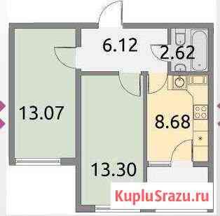 2-к квартира, 44 кв.м., 3/3 эт. Кузьмоловский