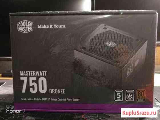 Новый Cooler Master MasterWatt 750 Богучаны