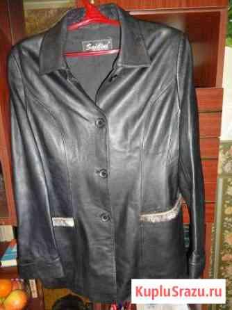 Пиджак кожаный Новосибирск