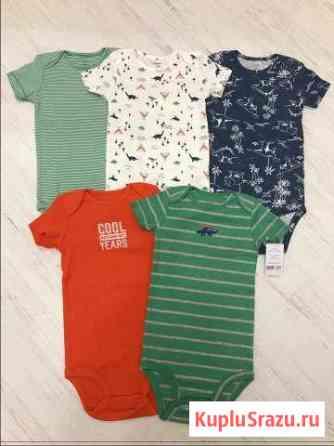 Боди, слипы, футболки Carters Америка, 2 года Нежинка