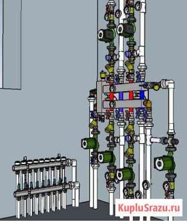 Монтаж отопления, водоснабжения и канализации Йошкар-Ола