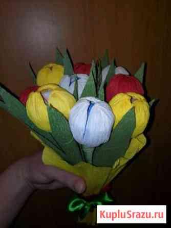 Букет сладкие тюльпаны Ханты-Мансийск