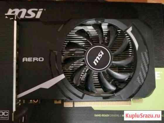 Видеокарта MSI Geforce GT 1030 Aero ITX Ханты-Мансийск