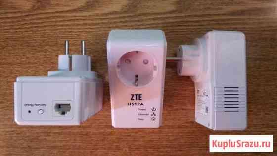 Адаптеры Powerline ZTE H512A, Sagemcom 501P, qtech Лесной