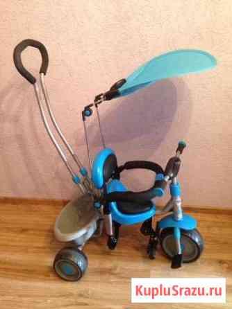 Детский велосипед- коляска Мостовской