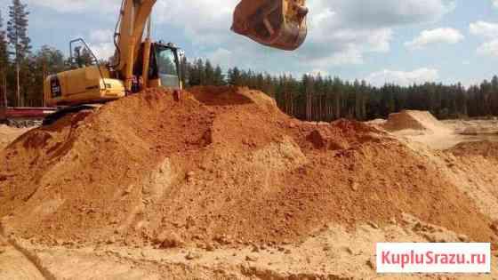 Песок карьерный в Еманжелинске Еманжелинск