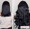 Наращивание волос, славянка Lux