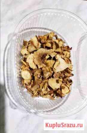 Сушеные грибы лисички Никольск