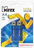 Батарейка Mirex ultra alkaline LR06/AA, блистер 2