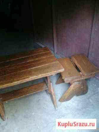 На дачу стол и два стула Хатанга