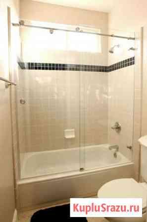Стеклянные душевые перегородки для ванной Краснодар