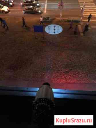Gobo проектор. Реклама на асфальте Балаково