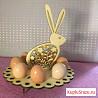 Пасхальная подставка под яйца - Кролик