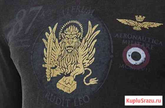 Футболка Aeronautica Militare(новая) Москва