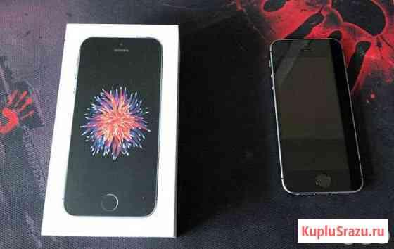 iPhone 5 se 32 gb серый космос Анадырь