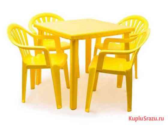Пластиковые столы и стулья Димитровград