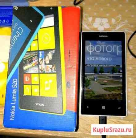 Телефон Nokia Lumia 520 Чебоксары