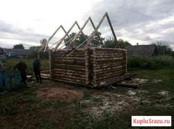 Сруб бани 5х4 в чашу Великий Новгород