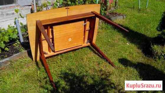 Стол обеденный раздвижной/раскладной на 8 10 челов Синявино