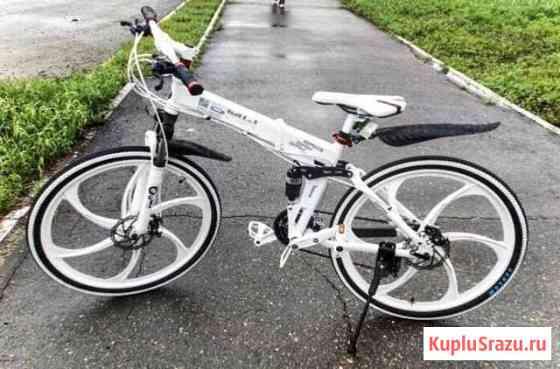 Велосипед на литых дисках Калуга