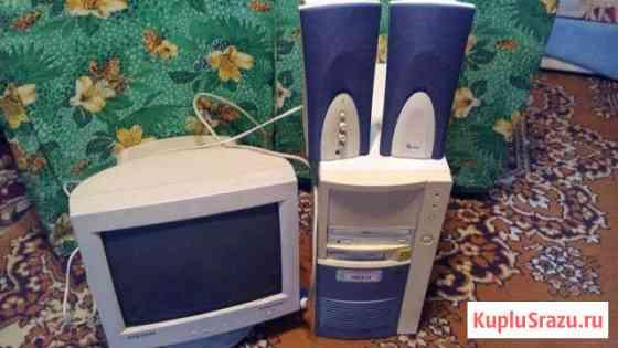 Монитор процессор колонки Большевик
