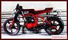 Кастом на базе Honda CB250 1995 гв