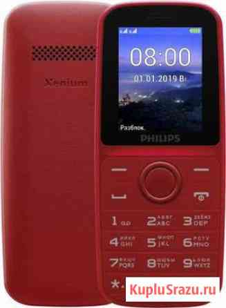 Телефон Philips Xenium E109 Dual Sim Red Санкт-Петербург