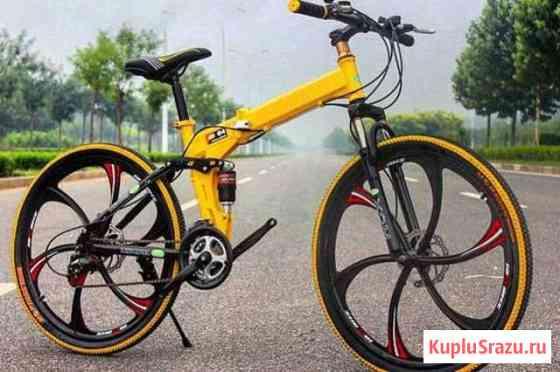 Велосипед на литых дисках Севастополь